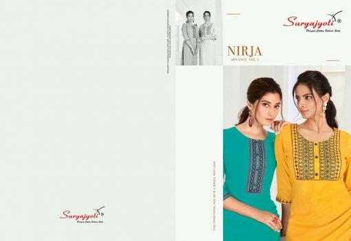 Suryajyoti Nirja Advance Vol 1 Kurti Wholesale Catalog 8 Pcs 5 510x351 - Suryajyoti Nirja Advance Vol 1 Kurti Wholesale Catalog 8 Pcs