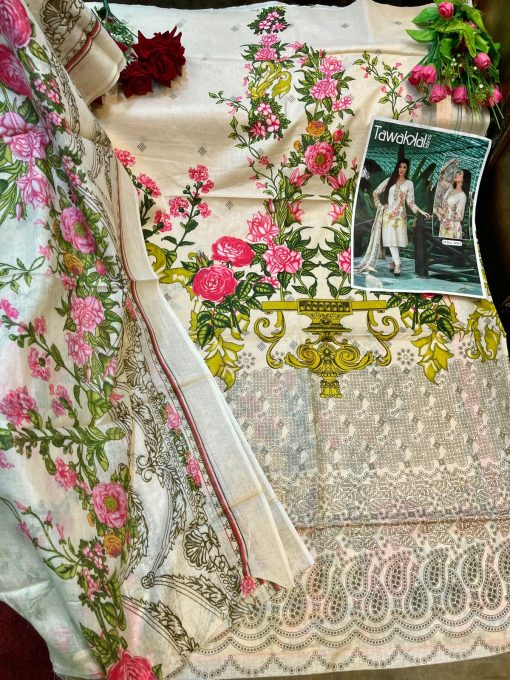 Tawakkal Opulence Luxury Cotton Vol 4 Salwar Suit Wholesale Catalog 10 Pcs 20 510x680 - Tawakkal Opulence Luxury Cotton Vol 4 Salwar Suit Wholesale Catalog 10 Pcs