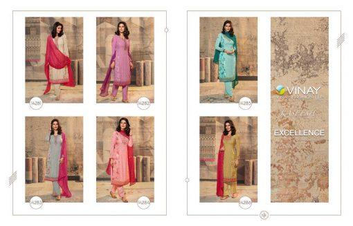 Vinay Kaseesh Excellence Salwar Suit Wholesale Catalog 6 Pcs 12 510x327 - Vinay Kaseesh Excellence Salwar Suit Wholesale Catalog 6 Pcs