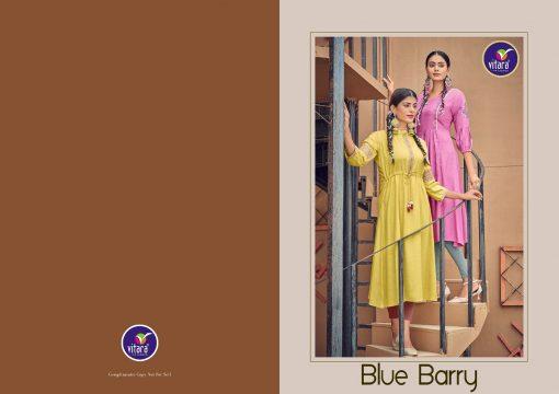Vitara Blue Berry Kurti Wholesale Catalog 6 Pcs 6 510x360 - Vitara Blue Berry Kurti Wholesale Catalog 6 Pcs