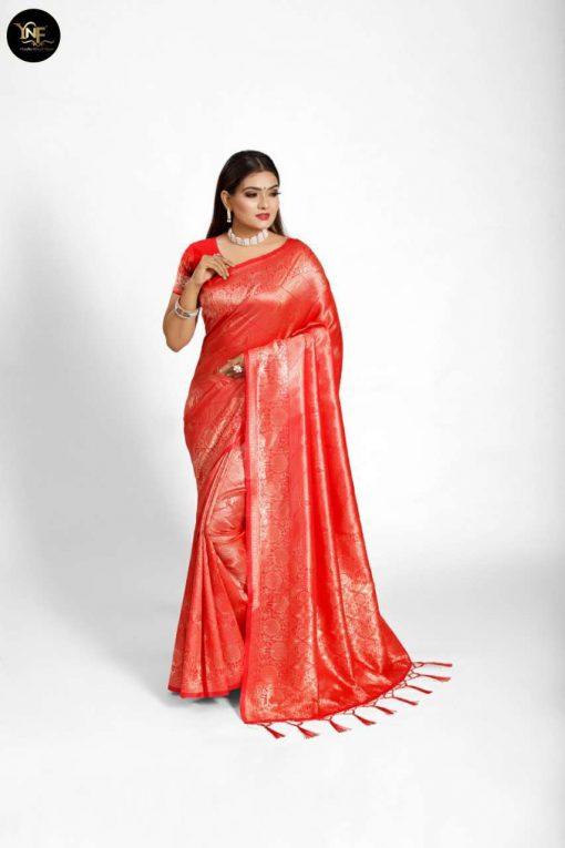 YNF Meesho Silk Saree Sari Wholesale Catalog 6 Pcs 1 510x765 - YNF Meesho Silk Saree Sari Wholesale Catalog 6 Pcs