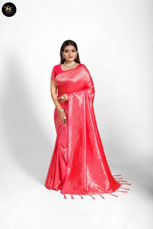YNF Meesho Silk Saree Sari Wholesale Catalog 6 Pcs 10 510x765 - YNF Meesho Silk Saree Sari Wholesale Catalog 6 Pcs