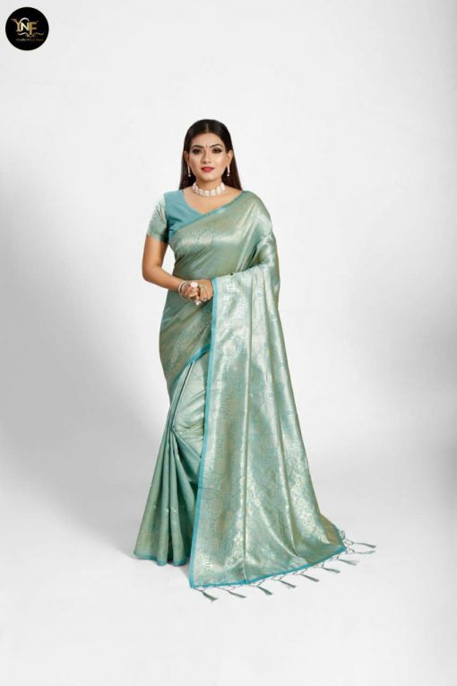 YNF Meesho Silk Saree Sari Wholesale Catalog 6 Pcs 11 510x765 - YNF Meesho Silk Saree Sari Wholesale Catalog 6 Pcs