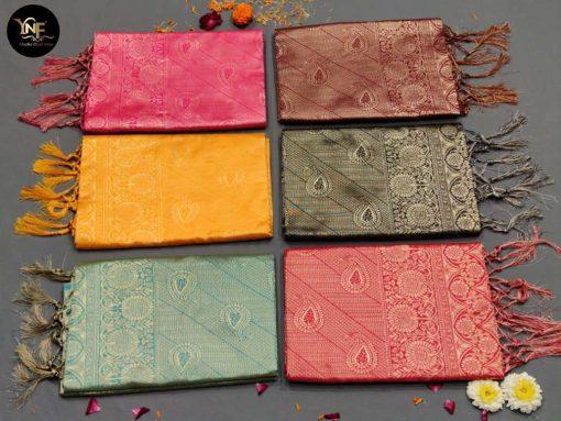 YNF Meesho Silk Saree Sari Wholesale Catalog 6 Pcs 13 510x383 - YNF Meesho Silk Saree Sari Wholesale Catalog 6 Pcs
