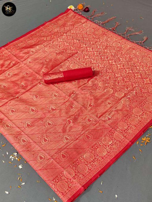 YNF Meesho Silk Saree Sari Wholesale Catalog 6 Pcs 2 510x680 - YNF Meesho Silk Saree Sari Wholesale Catalog 6 Pcs