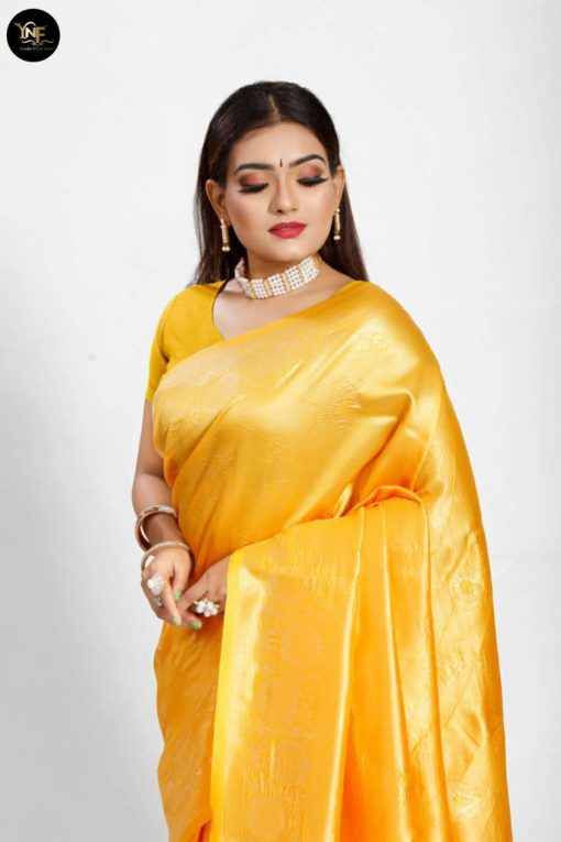 YNF Meesho Silk Saree Sari Wholesale Catalog 6 Pcs 3 510x765 - YNF Meesho Silk Saree Sari Wholesale Catalog 6 Pcs