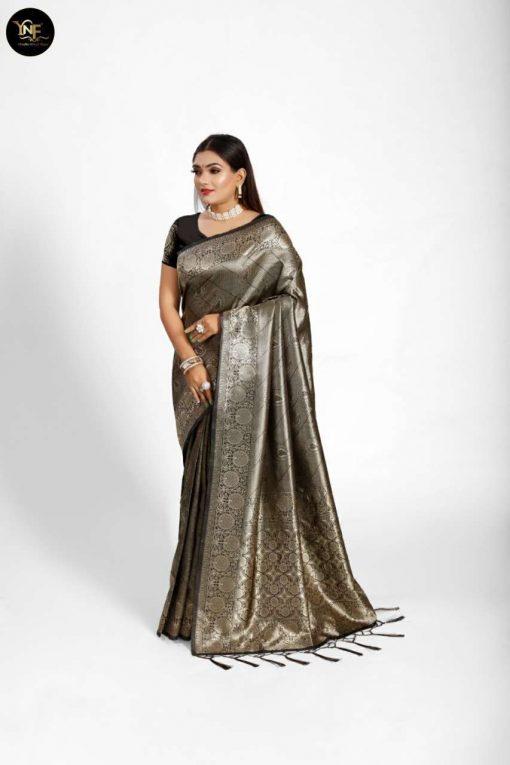 YNF Meesho Silk Saree Sari Wholesale Catalog 6 Pcs 7 510x765 - YNF Meesho Silk Saree Sari Wholesale Catalog 6 Pcs