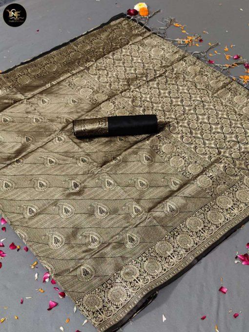 YNF Meesho Silk Saree Sari Wholesale Catalog 6 Pcs 8 510x680 - YNF Meesho Silk Saree Sari Wholesale Catalog 6 Pcs