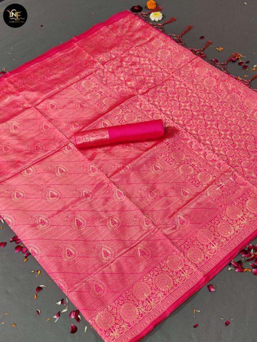 YNF Meesho Silk Saree Sari Wholesale Catalog 6 Pcs 9 510x679 - YNF Meesho Silk Saree Sari Wholesale Catalog 6 Pcs