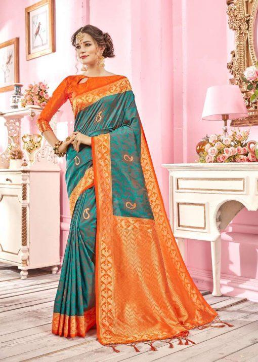 YNF Ragini Saree Sari Wholesale Catalog 6 Pcs 4 510x714 - YNF Ragini Saree Sari Wholesale Catalog 6 Pcs