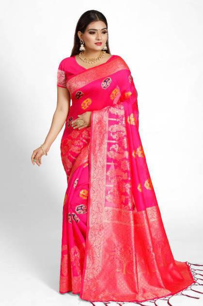 YNF Taneira Silk Saree Sari Wholesale Catalog 6 Pcs