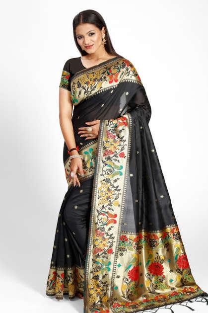 YNF Tesla Silk Saree Sari Wholesale Catalog 6 Pcs