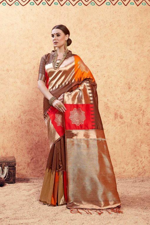 YNF Titan Saree Sari Wholesale Catalog 6 Pcs 3 510x765 - YNF Titan Saree Sari Wholesale Catalog 6 Pcs