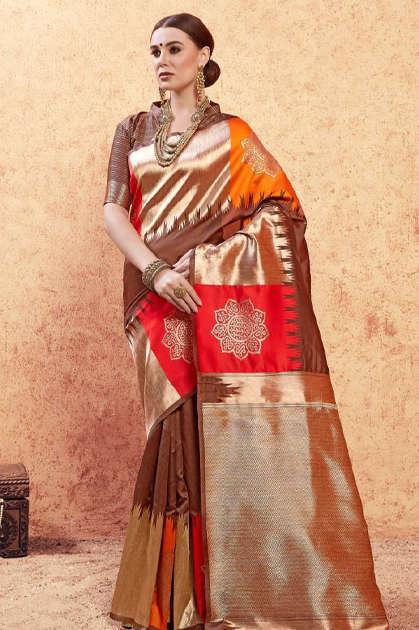 YNF Titan Saree Sari Wholesale Catalog 6 Pcs