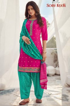 Z Black Soni Kudi Readymade Salwar Suit Wholesale Catalog 6 Pcs