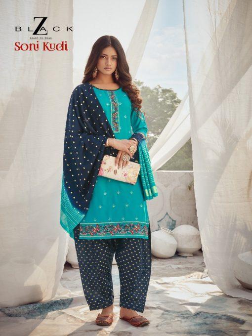 Z Black Soni Kudi Readymade Salwar Suit Wholesale Catalog 6 Pcs 5 510x680 - Z Black Soni Kudi Readymade Salwar Suit Wholesale Catalog 6 Pcs