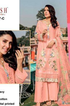 Zarqash Rouche Vol 2 DN 2047 by Khayyira Salwar Suit Wholesale Catalog 5 Pcs