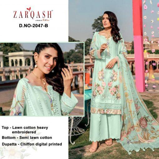 Zarqash Rouche Vol 2 DN 2047 by Khayyira Salwar Suit Wholesale Catalog 5 Pcs 3 510x510 - Zarqash Rouche Vol 2 DN 2047 by Khayyira Salwar Suit Wholesale Catalog 5 Pcs