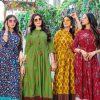 4 Shades Sundari Vol 3 by Blue Hills Kurti Wholesale Catalog 8 Pcs