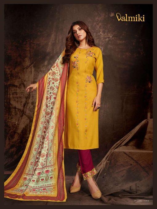 6SF 510x680 - Z Black Valmiki Readymade Salwar Suit Wholesale Catalog 6 Pcs