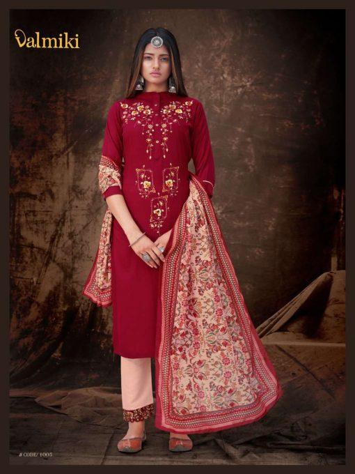 7SF 510x680 - Z Black Valmiki Readymade Salwar Suit Wholesale Catalog 6 Pcs