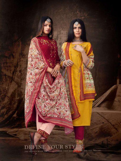 8SF 510x680 - Z Black Valmiki Readymade Salwar Suit Wholesale Catalog 6 Pcs