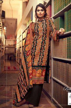Belliza Al'Marina Pashmina Salwar Suit Wholesale Catalog 10 Pcs