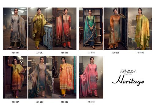 Belliza Heritage Salwar Suit Wholesale Catalog 10 Pcs 12 510x360 - Belliza Heritage Salwar Suit Wholesale Catalog 10 Pcs