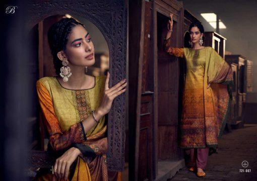 Belliza Heritage Salwar Suit Wholesale Catalog 10 Pcs 8 510x360 - Belliza Heritage Salwar Suit Wholesale Catalog 10 Pcs