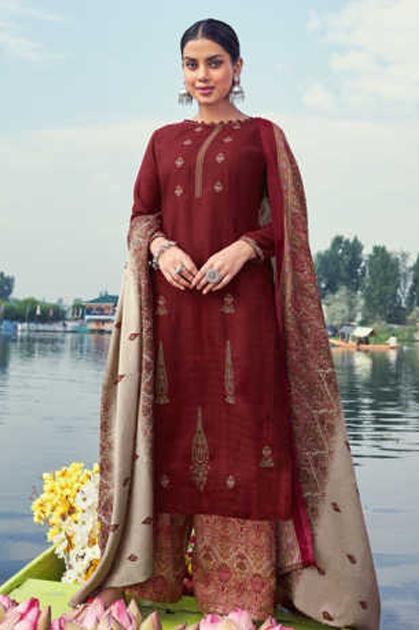Belliza Nizam E Patiala Pashmina Salwar Suit Wholesale Catalog 10 Pcs