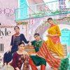 Blue Hills New Generation Kurti with Dupatta Bottom Wholesale Catalog 8 Pcs