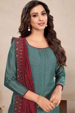 Brij Paakhi Vol 3 Salwar Suit Wholesale Catalog 8 Pcs