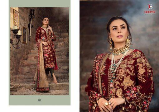 Deepsy Aniiq Velvet Collection Salwar Suit Wholesale Catalog 6 Pcs 5 510x360 - Deepsy Aniiq Velvet Collection Salwar Suit Wholesale Catalog 6 Pcs
