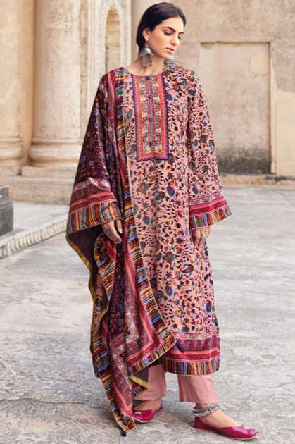 Deepsy Kaani Premium Velvet Collection Salwar Suit Wholesale Catalog 6 Pcs