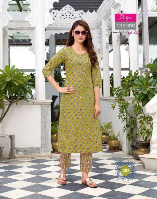 Diya Trends Cotton Candy Vol 1 by Kajal Style Kurti with Pant Wholesale Catalog 14 Pcs 10 510x646 - Diya Trends Cotton Candy Vol 1 by Kajal Style Kurti with Pant Wholesale Catalog 14 Pcs
