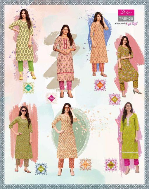 Diya Trends Cotton Candy Vol 1 by Kajal Style Kurti with Pant Wholesale Catalog 14 Pcs 19 510x646 - Diya Trends Cotton Candy Vol 1 by Kajal Style Kurti with Pant Wholesale Catalog 14 Pcs