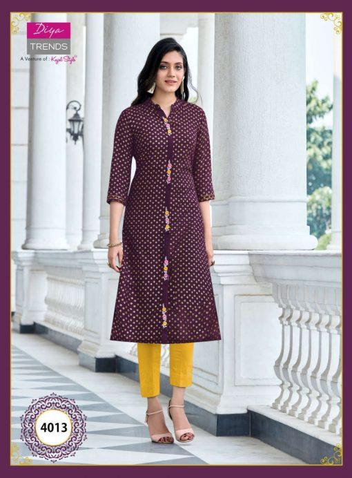 Diya Trends Victoria Vol 4 by Kajal Style Kurti Wholesale Catalog 16 Pcs 12 510x692 - Diya Trends Victoria Vol 4 by Kajal Style Kurti Wholesale Catalog 16 Pcs