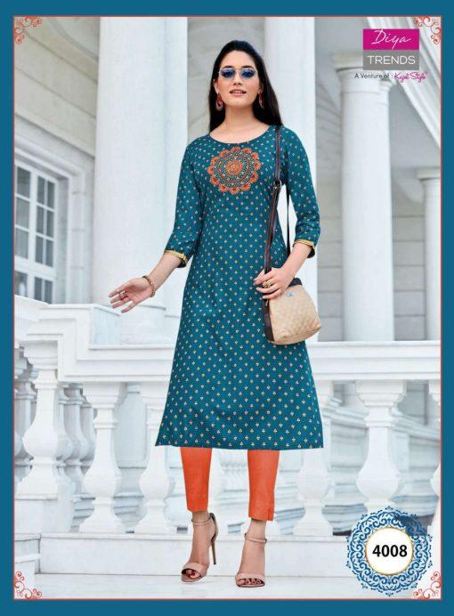 Diya Trends Victoria Vol 4 by Kajal Style Kurti Wholesale Catalog 16 Pcs 14 510x692 - Diya Trends Victoria Vol 4 by Kajal Style Kurti Wholesale Catalog 16 Pcs