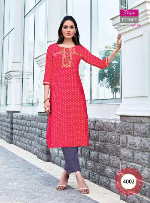 Diya Trends Victoria Vol 4 by Kajal Style Kurti Wholesale Catalog 16 Pcs 17 510x692 - Diya Trends Victoria Vol 4 by Kajal Style Kurti Wholesale Catalog 16 Pcs