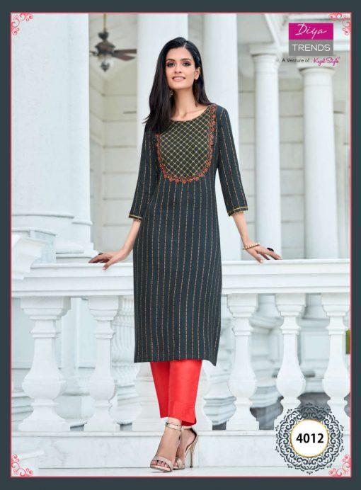 Diya Trends Victoria Vol 4 by Kajal Style Kurti Wholesale Catalog 16 Pcs 2 510x692 - Diya Trends Victoria Vol 4 by Kajal Style Kurti Wholesale Catalog 16 Pcs