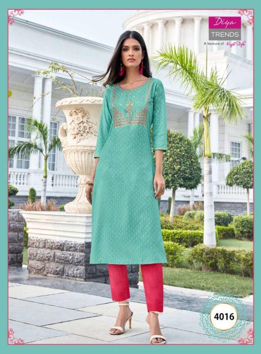 Diya Trends Victoria Vol 4 by Kajal Style Kurti Wholesale Catalog 16 Pcs 5 510x692 - Diya Trends Victoria Vol 4 by Kajal Style Kurti Wholesale Catalog 16 Pcs