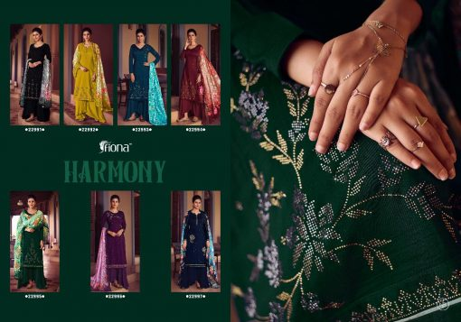 Fiona Harmony Salwar Suit Wholesale Catalog 7 Pcs 8 510x357 - Fiona Harmony Salwar Suit Wholesale Catalog 7 Pcs