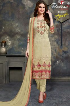 Floreon Trends Ayat Salwar Suit Wholesale Catalog 10 Pcs