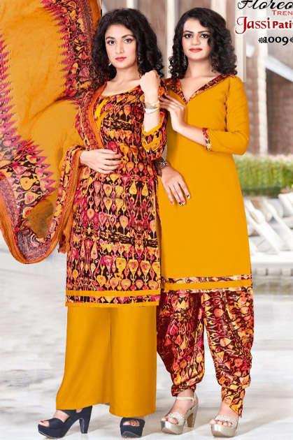 Floreon Trends Jassi Patiyala Vol 11 Salwar Suit Wholesale Catalog 10 Pcs