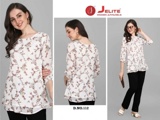 Jelite Georgette Tunics Vol 2 Tops Wholesale Catalog 6 Pcs 1 510x383 - Jelite Georgette Tunics Vol 2 Tops Wholesale Catalog 6 Pcs