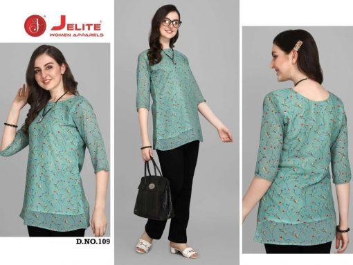 Jelite Georgette Tunics Vol 2 Tops Wholesale Catalog 6 Pcs 4 510x383 - Jelite Georgette Tunics Vol 2 Tops Wholesale Catalog 6 Pcs