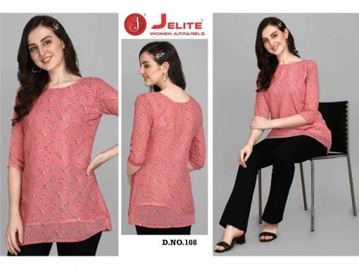 Jelite Georgette Tunics Vol 2 Tops Wholesale Catalog 6 Pcs 5 510x383 - Jelite Georgette Tunics Vol 2 Tops Wholesale Catalog 6 Pcs