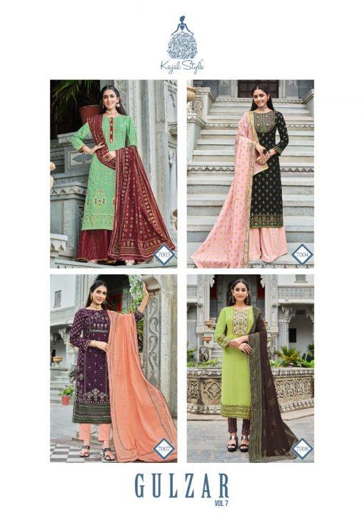 Kajal Style Gulzar Vol 7 Kurti with Dupatta Bottom Wholesale Catalog 8 Pcs 13 510x725 - Kajal Style Gulzar Vol 7 Kurti with Dupatta Bottom Wholesale Catalog 8 Pcs