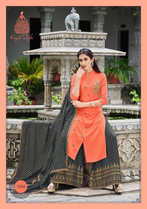 Kajal Style Gulzar Vol 7 Kurti with Dupatta Bottom Wholesale Catalog 8 Pcs 3 510x725 - Kajal Style Gulzar Vol 7 Kurti with Dupatta Bottom Wholesale Catalog 8 Pcs