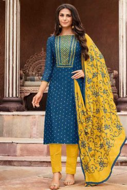 Kapil Trendz Mairin Vol 3 Salwar Suit Wholesale Catalog 12 Pcs